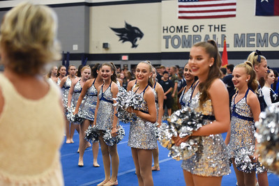 Pep Rally Patriotic Show  August 31,2018