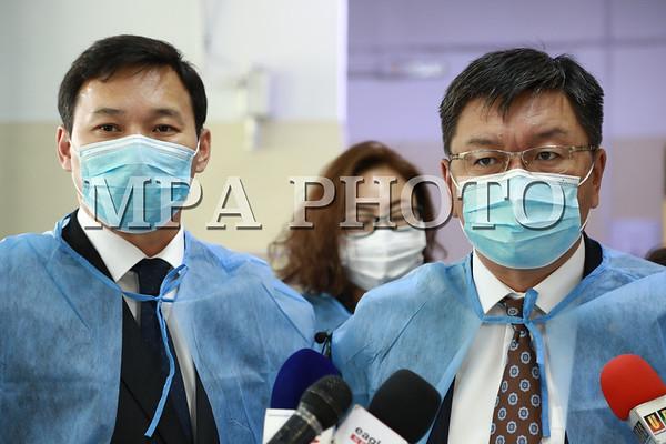 Монгол Улсын шадар сайд, Улсын Онцгой комиссын дарга Я.Содбаатар  ковид-19 халдварын үеийн эмнэлэгийн тусламж үйлчилгээний бэлэн байдалыг ш
