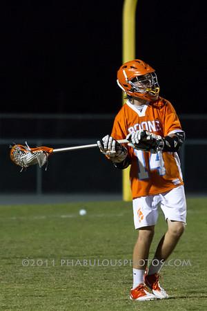 Boone @ Lake Nona Boys JV Lacrosse - 2012