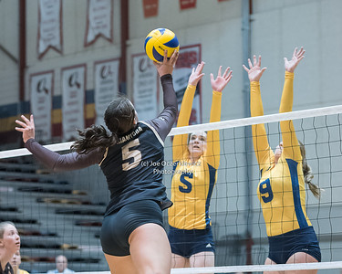 Bison Women's Volleyball vs Brandon Bobcats Oct 21, 2017