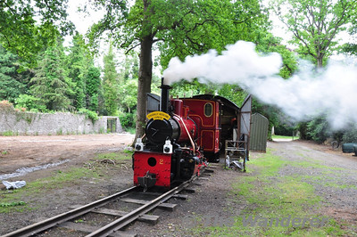 Irish Steam Preservation Society Narrow Gauge Railway at Stradbally Co. Laois