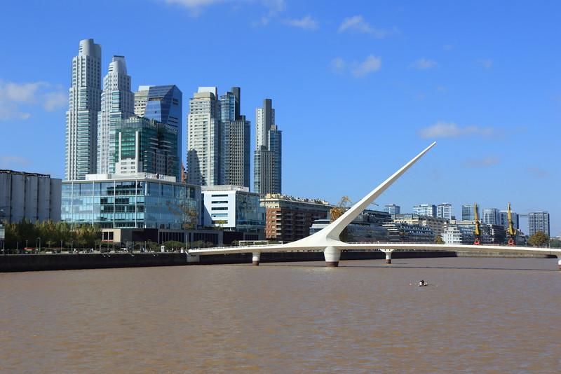 """Puente de la Mujer - """"Women's Bridge"""""""