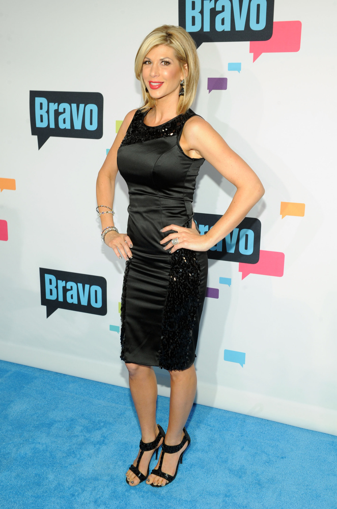 . Alexis Bellino attends the 2013 Bravo New York Upfront at Pillars 37 Studios on April 3, 2013 in New York City.  (Photo by Craig Barritt/Getty Images)