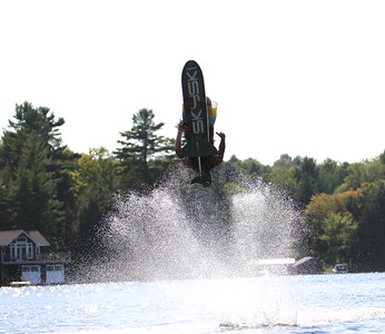 Charlie Newlands SkySki visit on Lake Rosseau