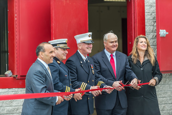 Monmouth County Fire Academy Ribbon Cutting Ceremony