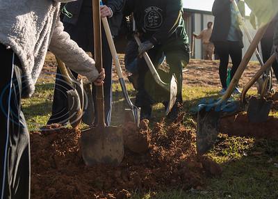 Arbor Day Tree Planting At Faulkner Park by Sandra Boynton & Cara Campbell