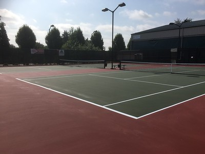 Holce Tennis Courts - June 2018