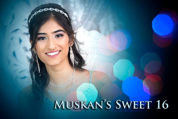 Muskan's Sweet 16