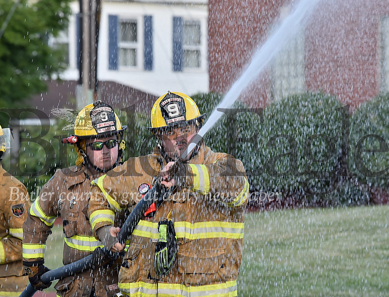 62941 Saxonburg VFD Annual Firefighters Water Battle during the Saxonburg VFD Carnival