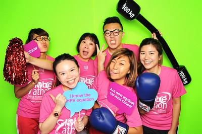 Power Over Women's Cancer Run - Roche Diagnostics