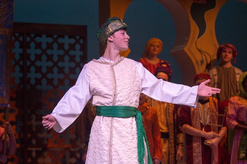"The Caliph (""Night of My Nights"") -- Kismet, Montgomery Blair High School spring musical, April 15, 2016 performance (Silver Spring, MD)"