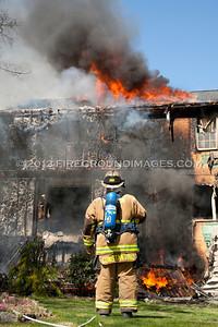 High Plains Rd. Fire (Shelton, CT) 5/3/13