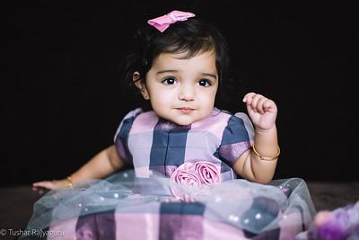 Meera-11th Month Photoshoot