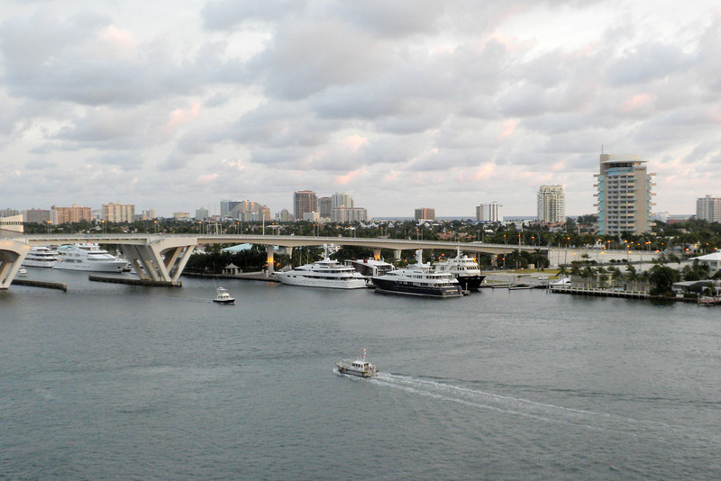 Early morning in Ft. Lauderdale