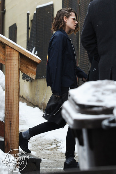 Kristen Stewart is in The Brotherhood of Vans Fashioning Cool 70s Jacket, Utah