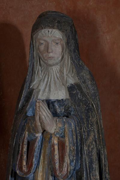 Chaource, Eglise Saint-Jean-Baptiste - The Entombment Donor - Jacqueline Laiges