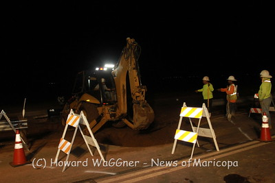 Water Main  Break on Honeycutt 9-19-2018