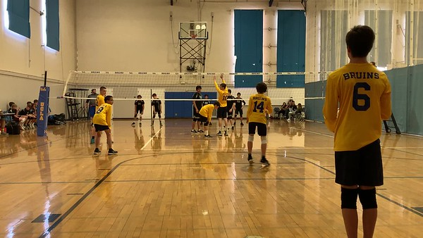 2019.04.25 Zachary volleyball game