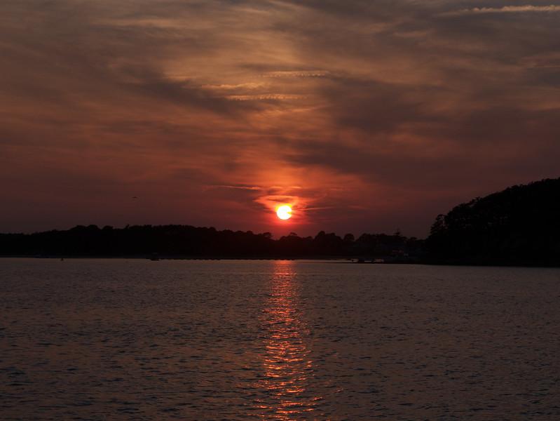 Sunset at Onset Bay