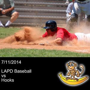 2014-07-11 LAPD Baseball VS Hooks