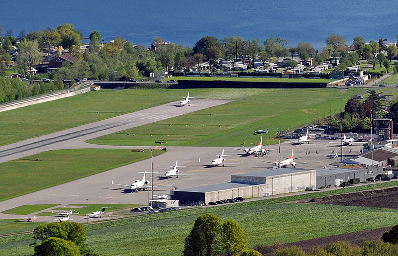 Lugano Airport Overview - 19.04.2016
