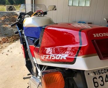 Honda RC30 on IMA