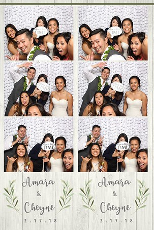 Amara & Cheyne's Wedding (Mini Open Air Photo Booth 2)