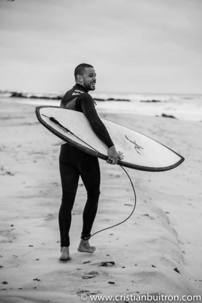 Jon De Verna 1st Surfing Shoot