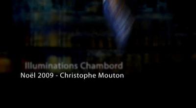 Illumination de Chambord - Noel 2009