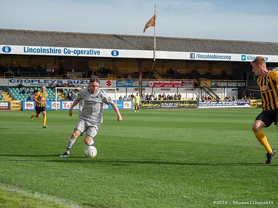 Boston United vs Blyth Spartans 4-0