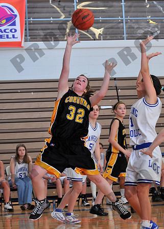 Girls JV Basketball - Corunna at Lansing Catholic - Jan 28