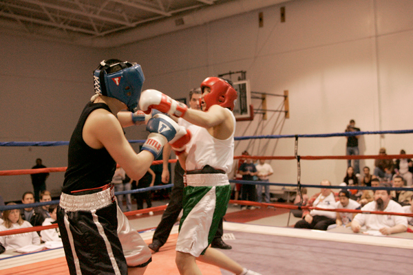 Junior Golden Gloves Jan 07  Saturday AM Session