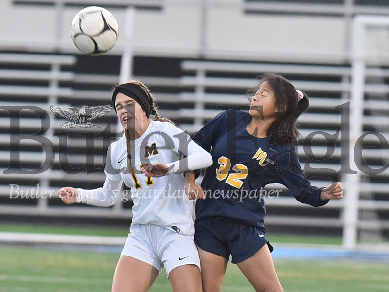 Mars vs Montour WPIAL Class 3A girls soccer quarter final  playoff game at Seneca Valley Nextier stadium