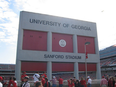 UGA Football game 2004