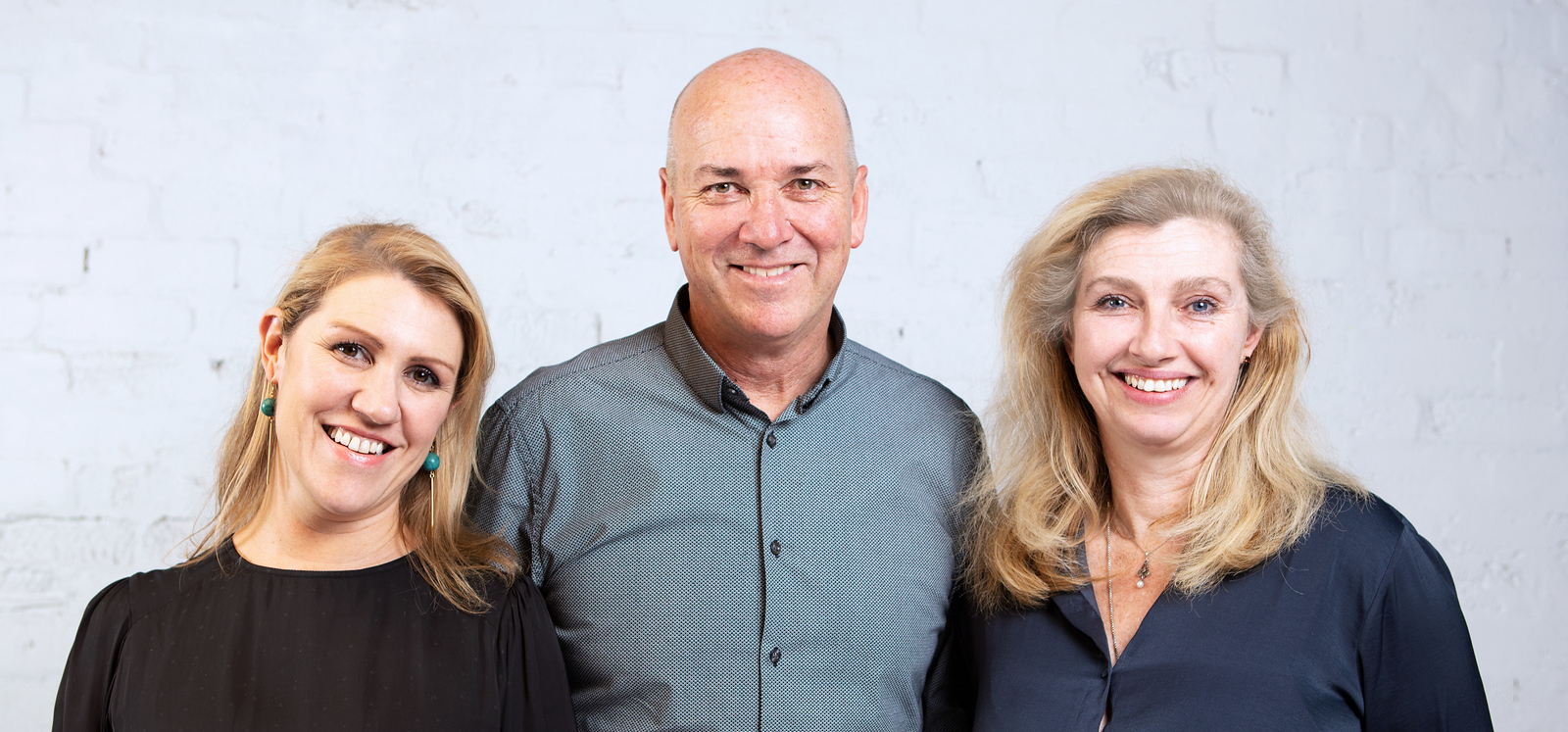 New AFFINITY directors L-R: Giorgia Butler, Russell Smyth, Lisa Christie  (photo credit: AFFINITY)