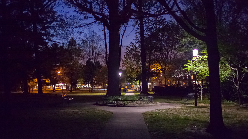 Wenonah Park at Night