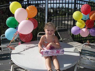 Kaitlyn's 3rd Birthday Aug 2010