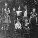 Family of William Long and Cora (Thing) Hunter
