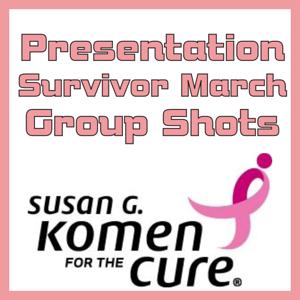 2010.10.02 Komen Cure- Presentation- Survivor March- Group Shots