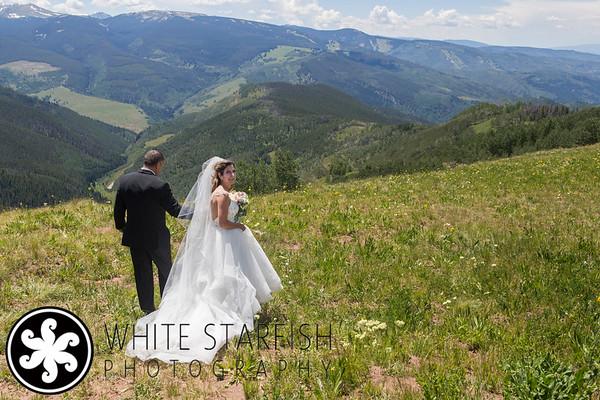 Vail Wedding Deck Wedding - Wendy and Rob