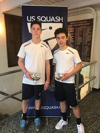 2018 U.S. Junior Squash Doubles Championships