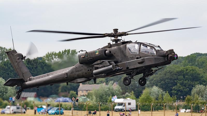 AH-64-D, AH-64D, Apache, Boeing, Q-29, RIAT 2015, Royal Netherlands Air Force