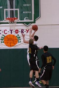 Bethel Men's Basketball vs Emmanual Christian 2011-2012