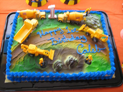 Caleb's 1st Birthday 2006