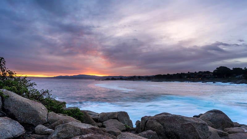 Sunrise over Monterey