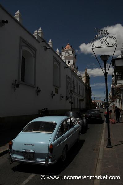 Volkswagen Street - Sucre, Bolivia