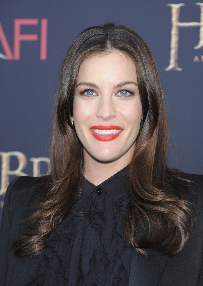 "Description of . Liv Tyler attends ""The Hobbit: An Unexpected Journey\"" New York premiere benefiting AFI at Ziegfeld Theater on December 6, 2012 in New York City.  (Photo by Michael Loccisano/Getty Images)"