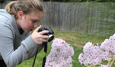 Sophia Smith  taking photos 8-29-17