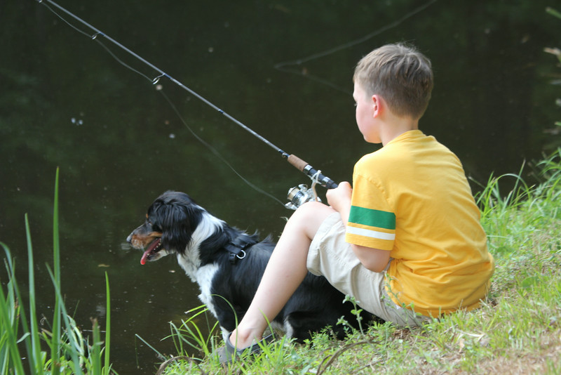 everyone needs a fishing buddy