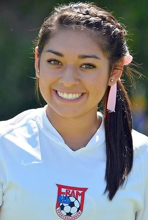. Celly Ruiz of Ontario High School has been named to the Daily Bulletin\'s All-Valley Girl\'s soccer team. Courtesy photo.